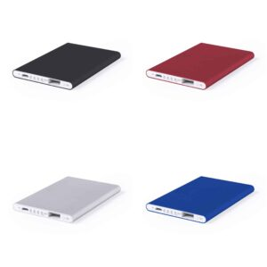 Deluxe slim metal Powerbank 5.000 mAh