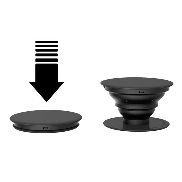 Verstelbare smartphone houder met logo