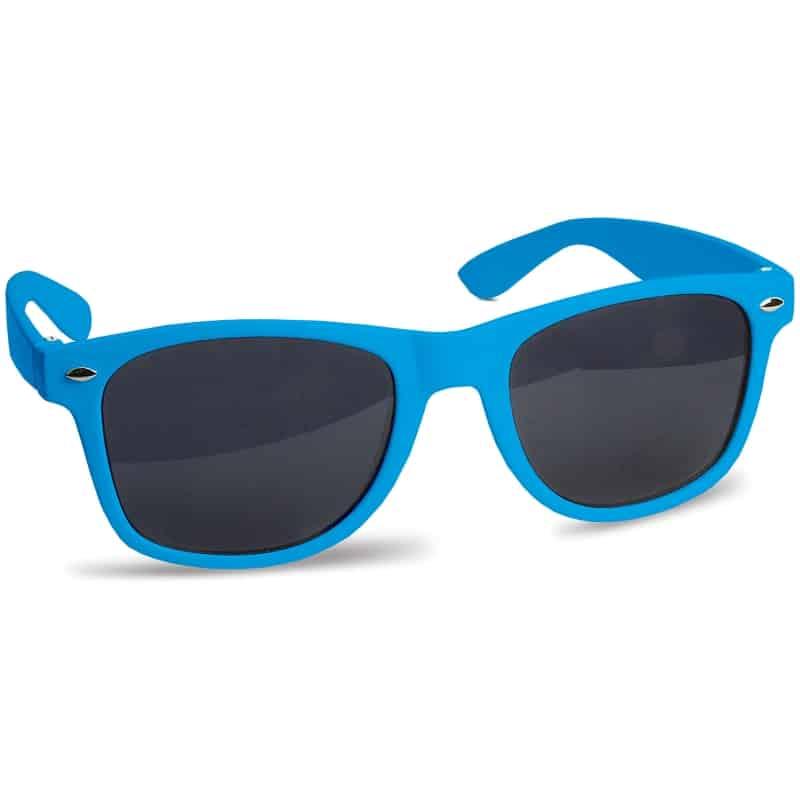 zonnebril bedrukken - blauw