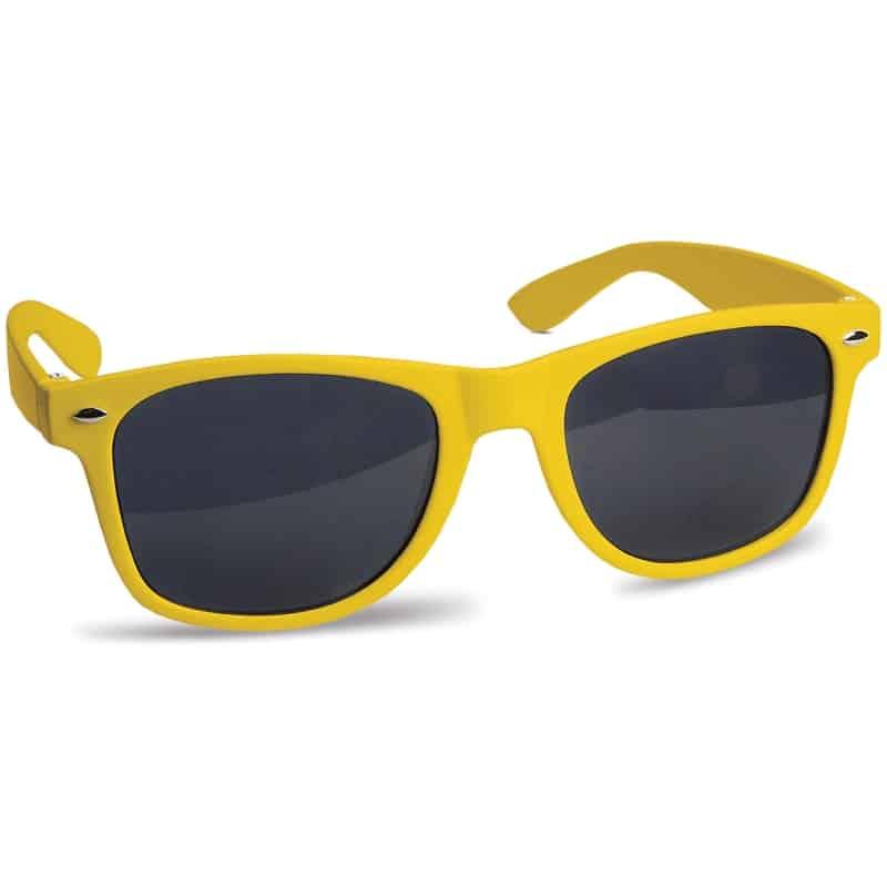 zonnebril bedrukken - Geel