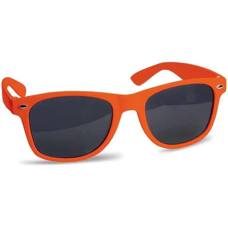zonnebril bedrukken - oranje