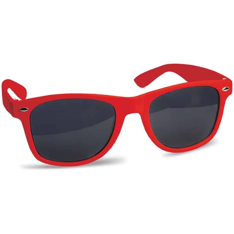 zonnebril bedrukken - rood