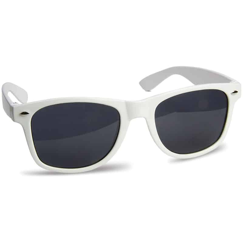 zonnebril bedrukken - Wit