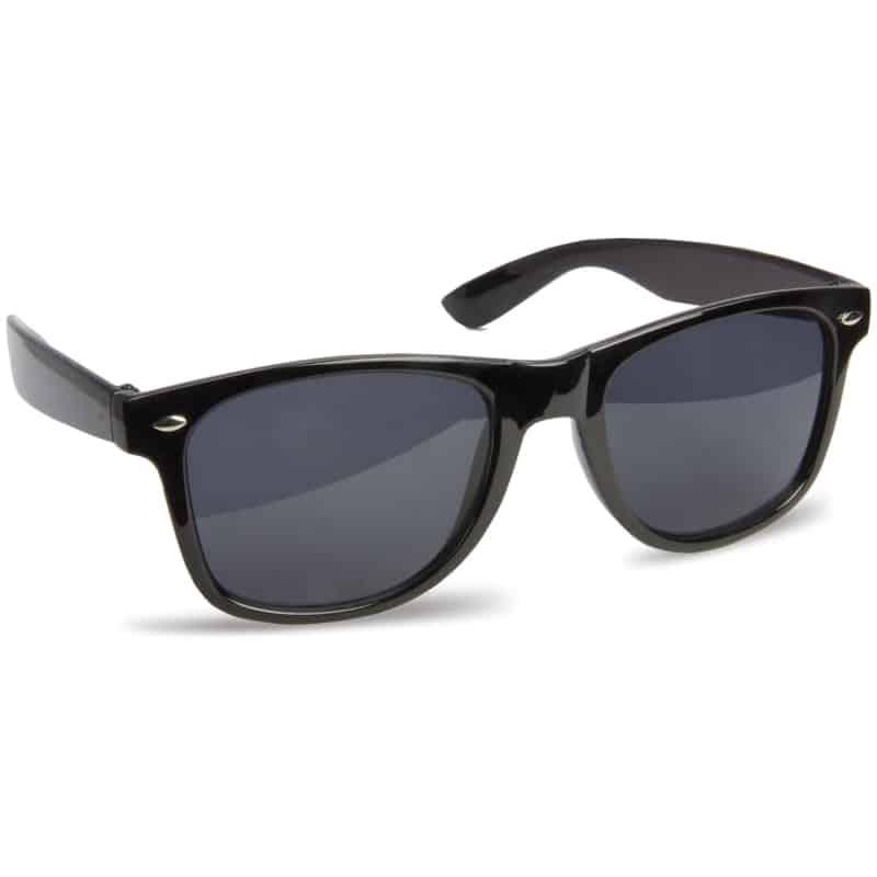 zonnebril bedrukken - zwart