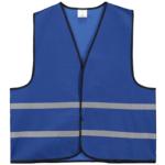 Veiligheidshesjes bedrukken-blauw