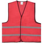 Veiligheidshesjes bedrukken-rood