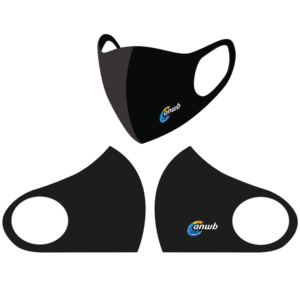 Herbruikbare Mondkapjes bedrukken - ANWB zwart