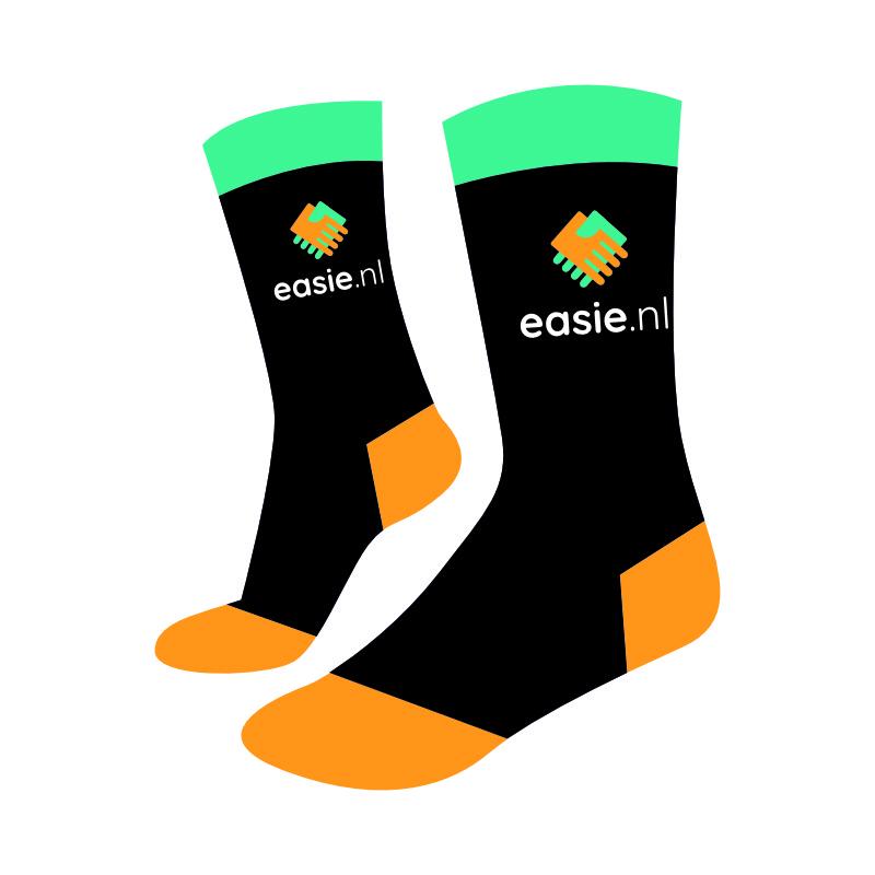 Sokken bedrukken kleine oplage Easie