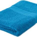 Handdoeken bedrukken lichtblauw