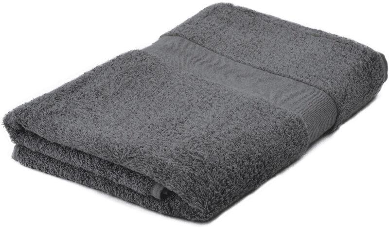 Handdoeken bedrukken lichtgrijs