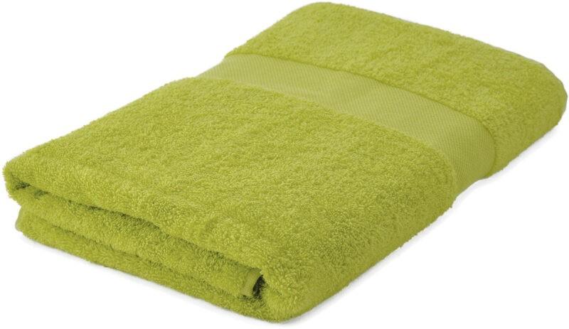 Handdoeken bedrukken lichtgroen