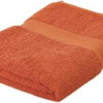 Handdoeken bedrukken oranje