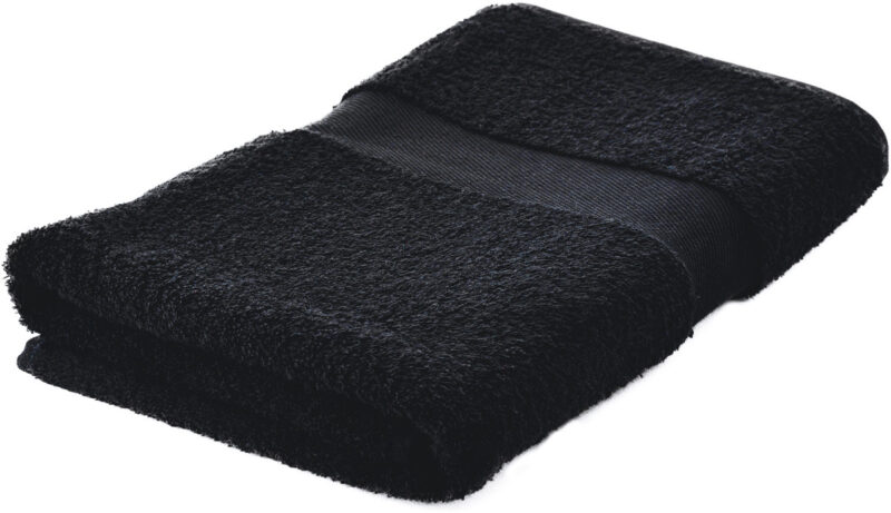 Handdoeken bedrukken zwart