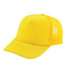 Trucker caps bedrukken geel