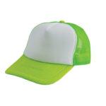 Trucker caps bedrukken groen-wit