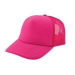 Trucker caps bedrukken roze