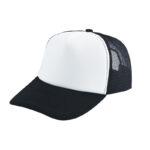 Trucker caps bedrukken zwart-wit