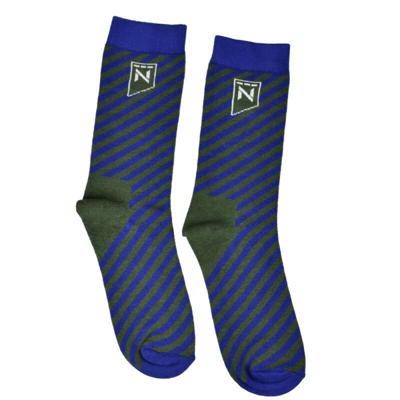 sokken bedrukken voorbeeld streep