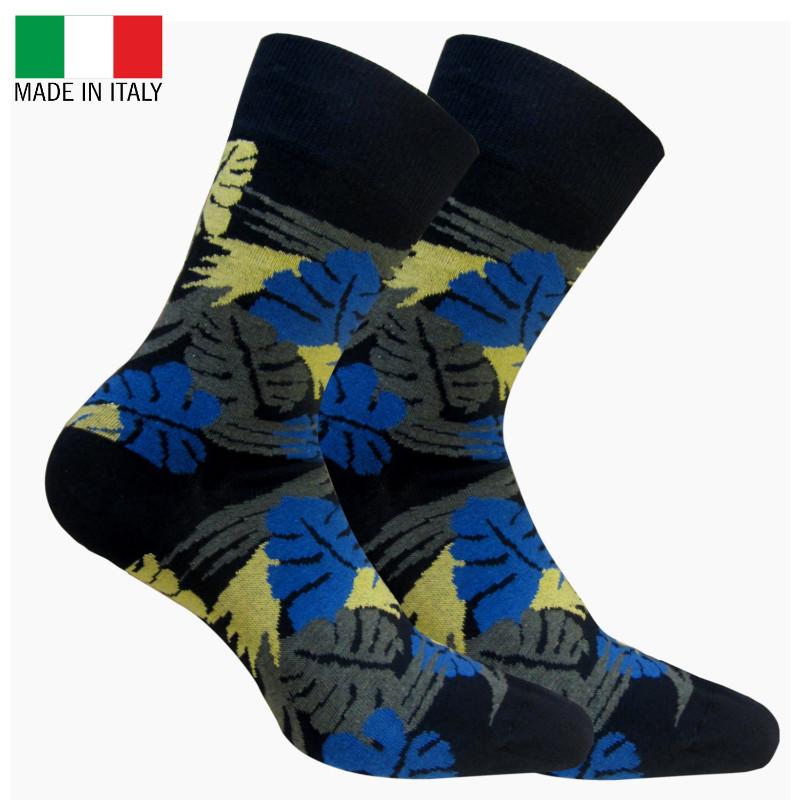 Sokken bedrukken blad - Made in Italy